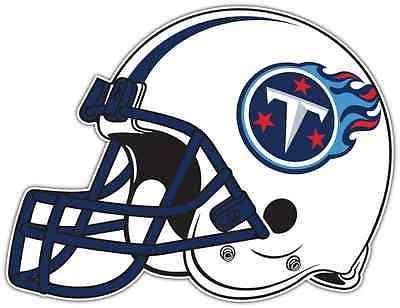 tennessee titans helmet nfl football car bumper