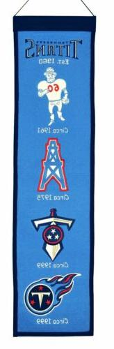 Tennessee Titans Heritage Banner 1031