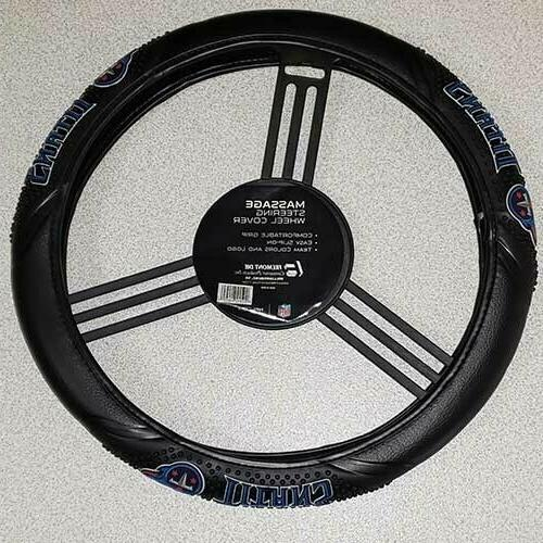 tennessee titans massage grip steering wheel cover