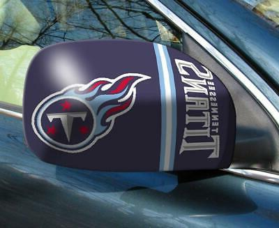 tennessee titans mirror cover 2 pack small