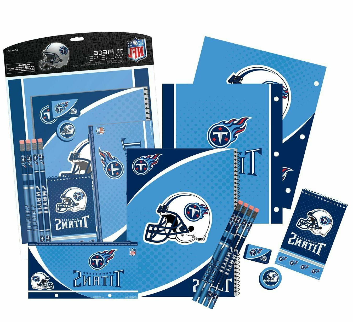 Tennessee Titans Piece Stationery Set Pads Eraser