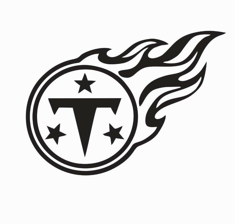 tennessee titans nfl football vinyl die cut