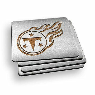 tennessee titans nfl stainless steel boasters set
