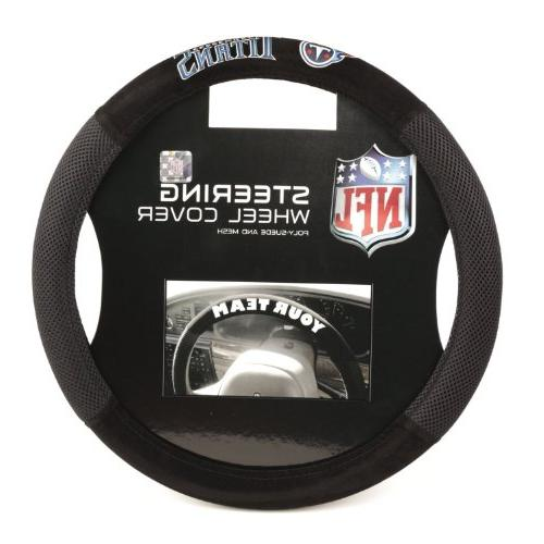 tennessee titans poly suede steering