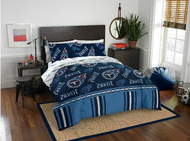 tennessee titans queen comforter and sheet set