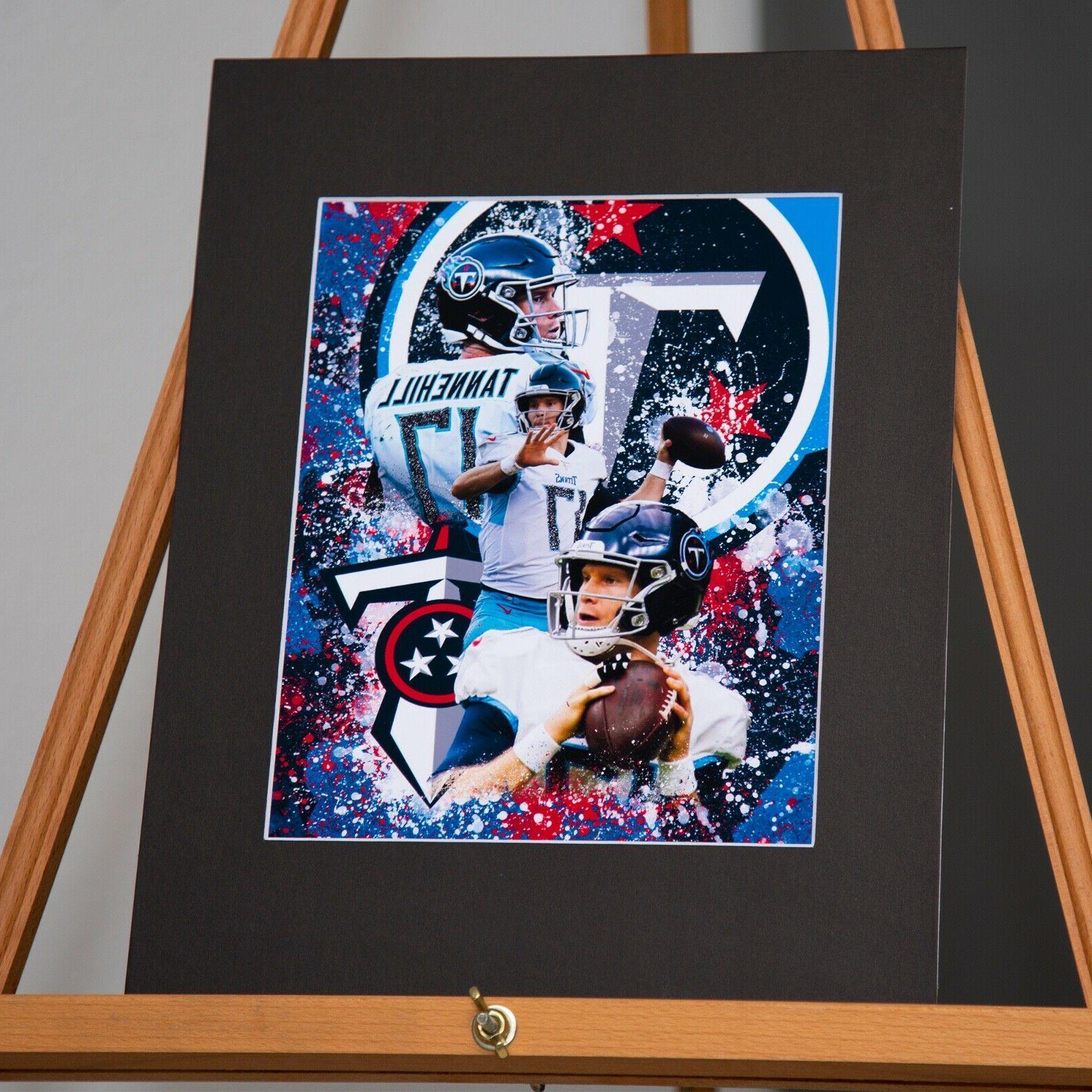 Tennessee Titans Tannehill #17 - Custom Artwork
