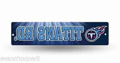 tennessee titans street sign new 4 x16