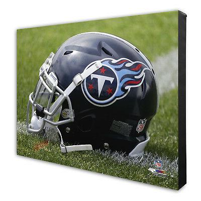 tennessee titans team helmet canvas print picture