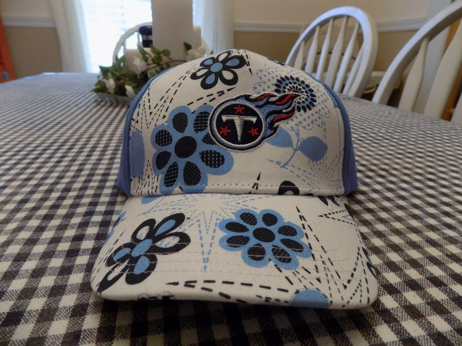 tennessee titans toddler blue floral ball cap