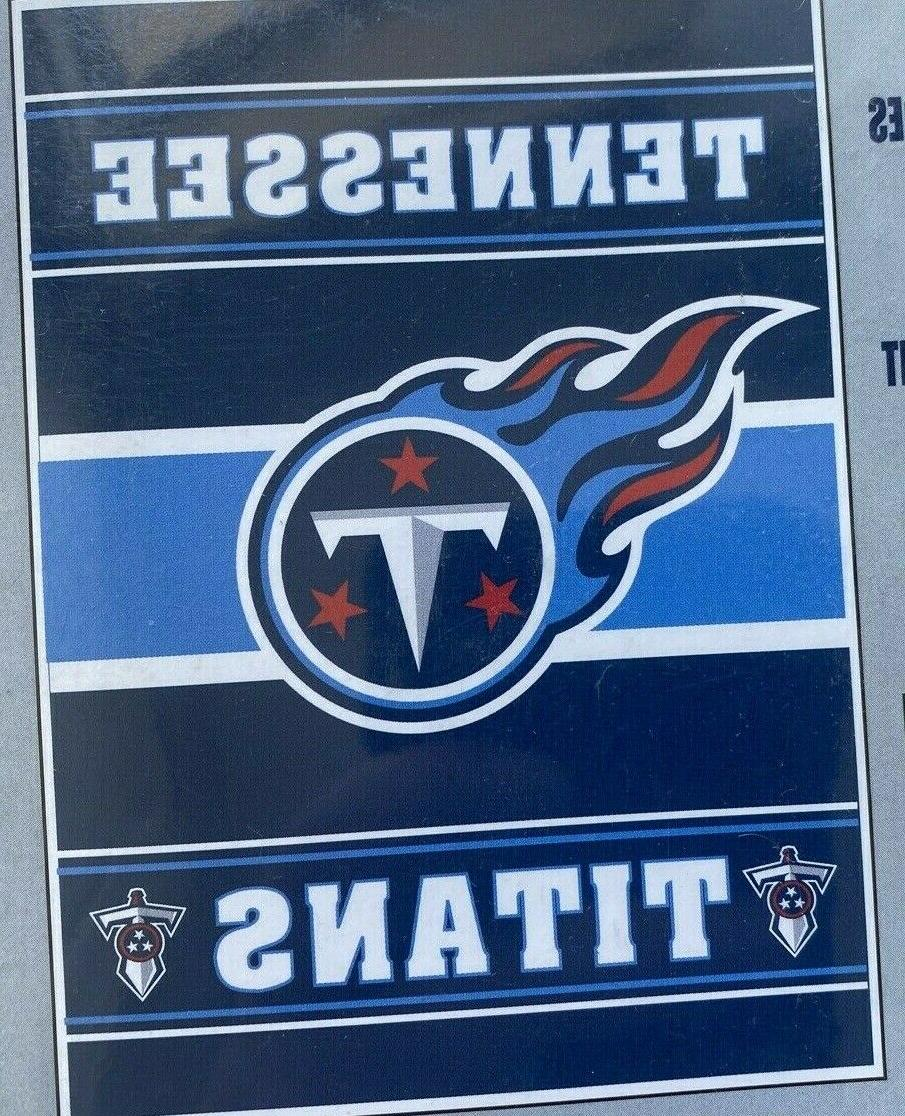tennessee titans two sided 28 x 40