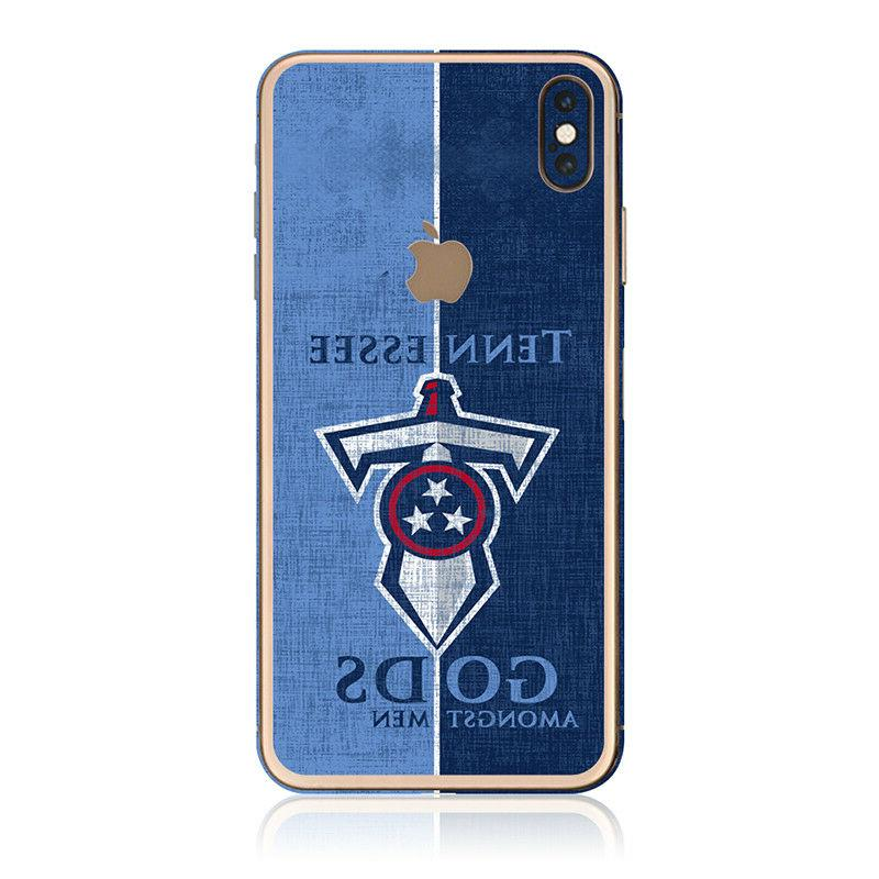 tennessee titans vinyl skin for iphone xs