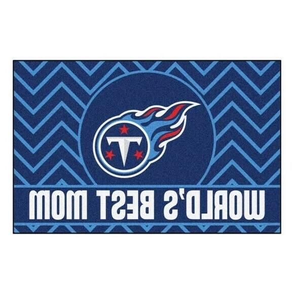 """Tennessee Titans Mom 19"""" 30"""" Starter Area Rug"""