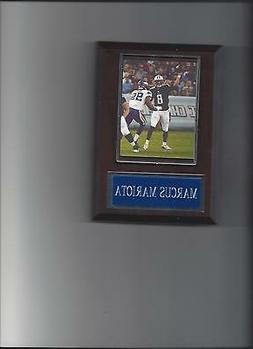 MARCUS MARIOTA PLAQUE TENNESSEE TITANS FOOTBALL NFL GAME ACT