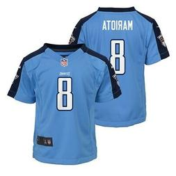 Marcus Mariota Tennessee Titans NFL Nike Boys Light Blue  Ga