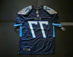 Nike Men's Tennessee Titans Taylor Lewan #77 Game Jersey  -