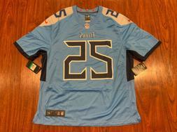 Nike Men's Adoree Jackson Tennessee Titans Blue Game Versi