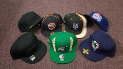 NBA NFL MLB Fitted Baseball Caps, Size 7-7/8, Reebok and New
