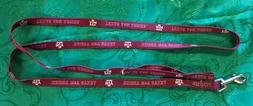 """NCAA Dog Leashes - 6 Ft - Lots of college available - 1/2"""""""