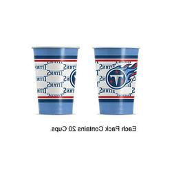 new 20pc nfl disposable party supplies paper
