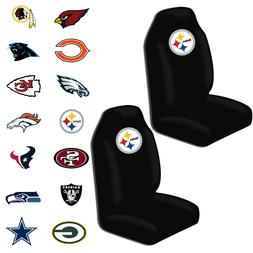 New NFL All Teams Car Truck Universal Fit 2 Front Bucket Sea