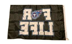 NEW NFL Tennessee Titans 3' x 5' Flag For Life Banner