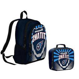 New NFL Tennessee Titans Boy / Girl / Kids School Backpack &