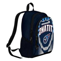 New NFL Tennessee Titans Boy / Girl / Kids School Backpack S