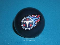 NEW NFL Tennessee TITANS Football Blue Billiard Pool Cue Bal