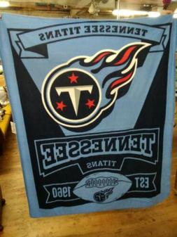 New Northwest NFL Tennessee Titans Soft Fleece Throw Blanket