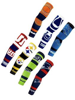 NEW! Pair NFL Team Strong Arms Sleeve Sleeves Football Fan G