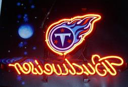 New Tennessee Titans Budweiser Neon Sign Artwork Light Lamp