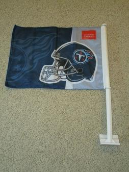 New Tennessee Titans Car Flags Double Sided