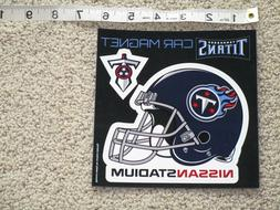 New Tennessee Titans Helmet / Sword / Car Magnet