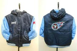 NEW Tennessee Titans Youth Sizes XS-S-M-L-XL Reebok Hooded H
