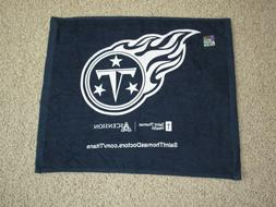 New Unused Tennessee Titans Rally Towel Navy Blue