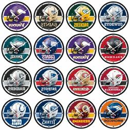 """Wincraft NFL 12.75"""" Round Wall Clock - Pick Your Team - FREE"""