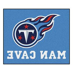 NFL - Tennessee Titans Man Cave Tailgater Rug 60x72