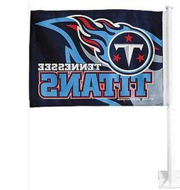 NFL CAR WINDOW FLAG - Tennessee Titans - NEW, UNUSED, LICENS