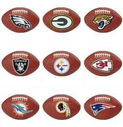 nfl football shaped area rugs all teams