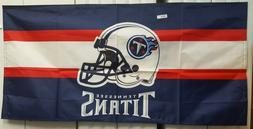 """NFL FOOTBALL TENNESSEE TITANS 53X26"""" BANNER/TABLE COVER NEW"""