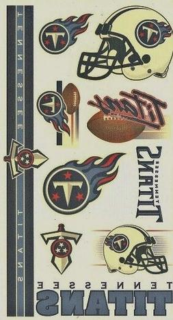 NFL Football Tennessee TITANS Temporary Tattoos Sheet by Win