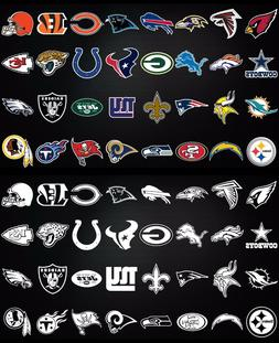 NFL football window bumper sticker vehicle decals - Every te