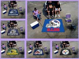 NFL Licensed 5'X6' Tailgater Area Rug Floor Mat Carpet Man C