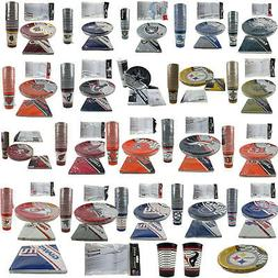 NFL Pick Your Team Picnic Tailgate Party Supplies Plates Cup