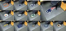 """NFL Team Logo 45"""" x 53"""" Office Chair Mat NFL FANMATS"""