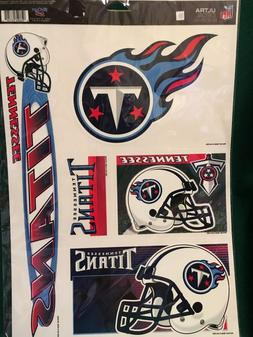"""NFL Tennessee Titans 11""""X17"""" Sheet of  Multi Decals"""