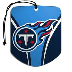nfl tennessee titans 2 pack air freshener