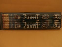 nfl tennessee titans 7 inch wooden pencils