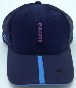 NFL Tennessee Titans Adult Rubber Visor Adjustable Cap NEW S