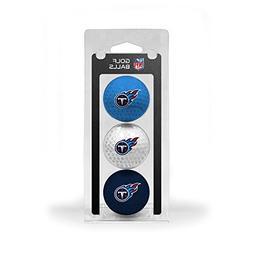 NFL Tennessee Titans 3-Pack Golf Balls